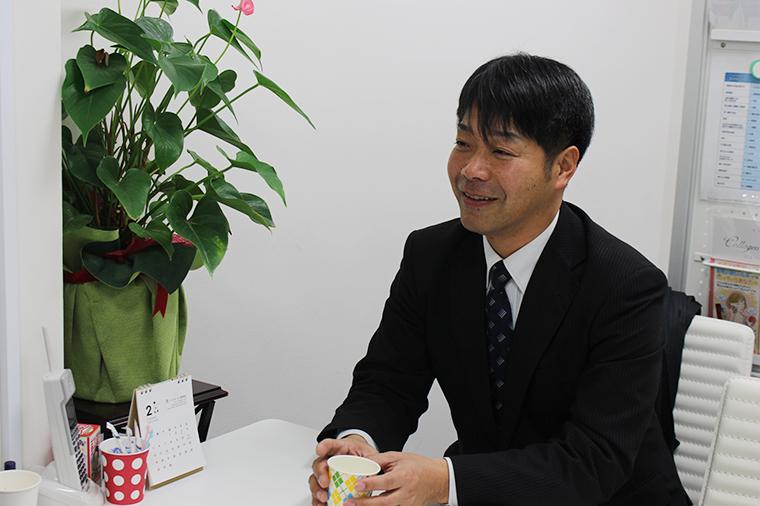 株式会社ティーイーネットワーク 代表取締役社長 大田垣敏信